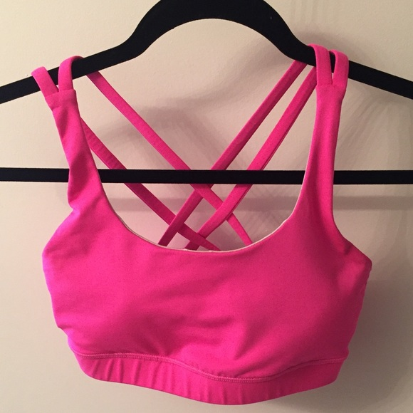 3e3d940d1b lululemon athletica Other - Lululemon Energy Sports Bra 💕 Hot Pink 💕 Size  4